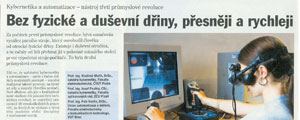 24.2.2005 - Prmyslov automatizace (ploha HN) - Bez fyzick a duevn diny, pesnji a rychleji